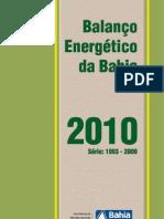 Balanco Energetico Bahia 2010 Final