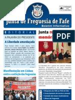 Boletim Informativo N.º 26 - Maio/2012