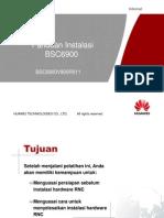 Instalasi Perangkat BSC6900V900R011
