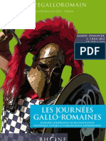 Affiche officelle Journées gallo-romaines 2012