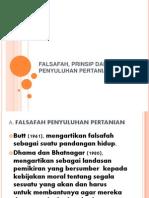 Falsafah, Prinsip Dan Etika Penyuluhan Pertanian
