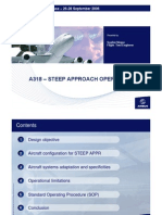 A318 Steep Approach Operations