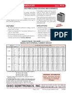 Ac Watt Transducer ModelPC5