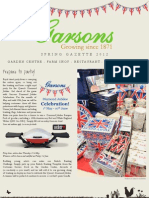 Esher Spring-Summer Gazette 2012