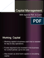 Working Capital Mngt