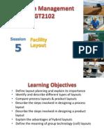 05 Facilities Layout