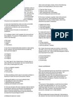 Fundamentals of Nursing Questions