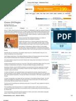 09-02_Census 2011 Begins - Hindustan Times