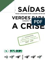 5 Saídas Verdes para a Crise