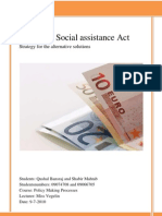 Work and Social Assistance Act Strategy Paper