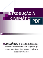 Introducao a Cinematica....