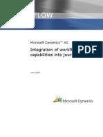 Integrate Workflow in Financial Journals