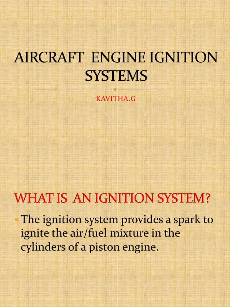 Aircraft Ignition Systems Final System Engines Bendix Magneto Switch Wiring Diagram
