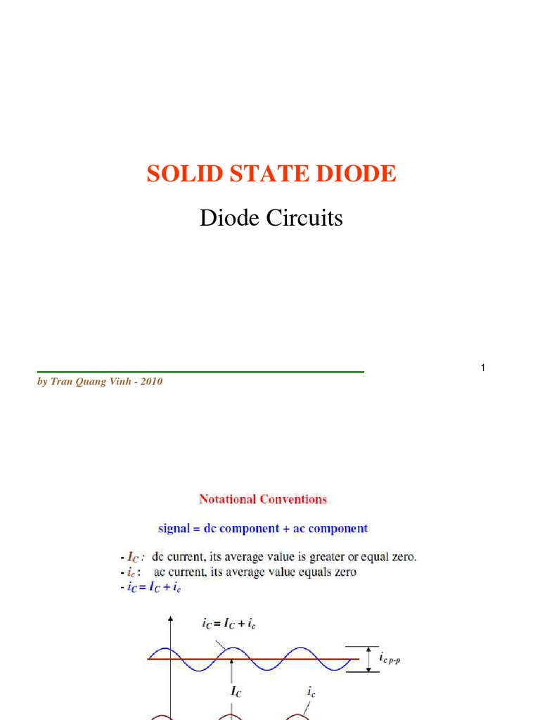 Diode English Final Network Analysis Electrical Circuits