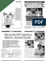 Versión impresa del periódico El mexiquense 11 mayo 2012