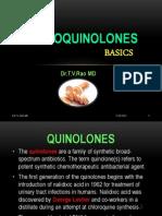 Fluroquinolones