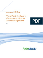 Third Party Software Component License Terms