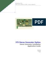 STX LP Stereo Generator Install Application Guide