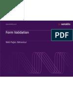20 Form Validation PR TM