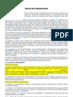 Historia de La Admon2012