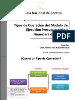 20110527-Tipos de Operaciones en El SIAF-SP 2011