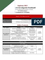 Programa Sapienza 2012