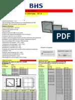 Catalogo Amperimetro-Voltimetro Analogico