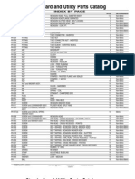 Standard and Utility Parts Catalog
