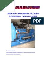 Operacion y Mantenimiento de Grupos Electrogenos Para Fallo de Red