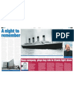 Kildare Nationalist - Coastway produce 3D Model for Titanic Belfast® Light Show