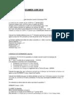 3BQ - Partiel Produits d'épargne (énoncé) 2009-2010