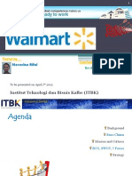 MM ITBK - WalMart Overview - Global Marketing by Noverino Rifai