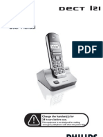 Philips DECT121-User Manual