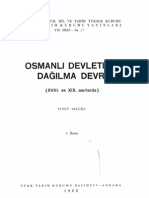 Osmanlı Dağılma Dönemi - Yusuf Akçura