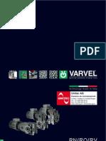 VARVEL RN RO RV Kegel-Stirnradgetriebe Broschüre 2011 rev00