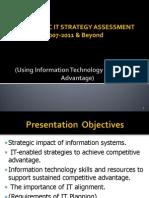 MASS SPECC IT Planning Assessments