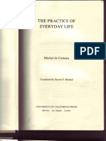 20175364 the Practice of Everyday Life M D Certeau