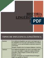 Historia Lingüística de España
