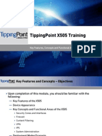 Tippingpoint X505 Training - 01 Key Concepts