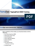 Tippingpoint X505 Training - 02 System Administration