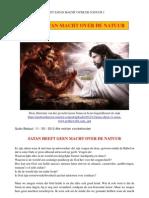 Heeft Satan macht over de natuur