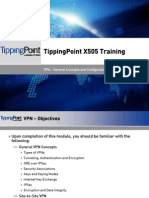 Tippingpoint X505 Training - 05-VPN