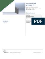 Proyecto 1 SimulationXpress Study 1