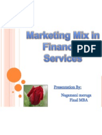 Marketing Mix in Fiancial Services
