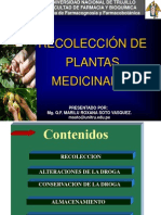 Recolección de Plantas Medicinales por Q.F. Marilú Roxana Soto Vásquez