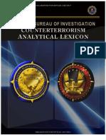 FBI Counterterrorism Analytical Lexicon