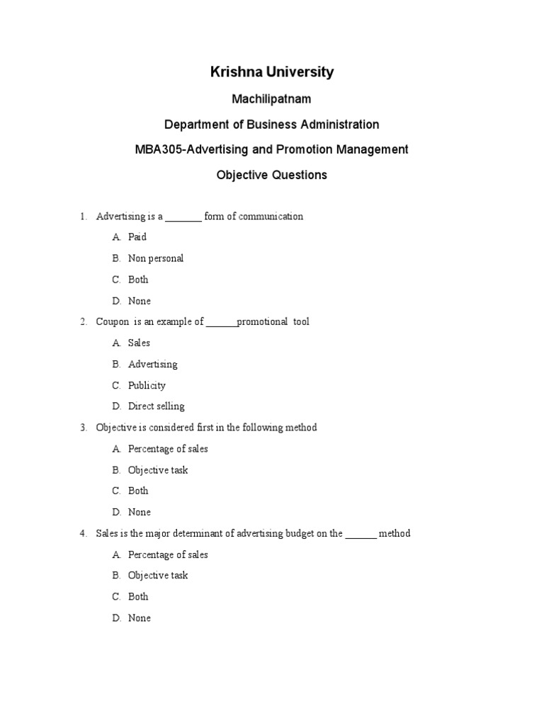objective questions Objective questions and answers - download as word doc (doc / docx), pdf file (pdf), text file (txt) or read online.