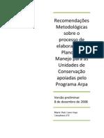 Recomendações metodológicas processo elaboração PM US_PI 8 de dezembro
