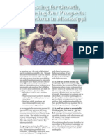 Tax Reform for Mississippi's Working Families 2008