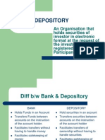 Depository Services Ppt